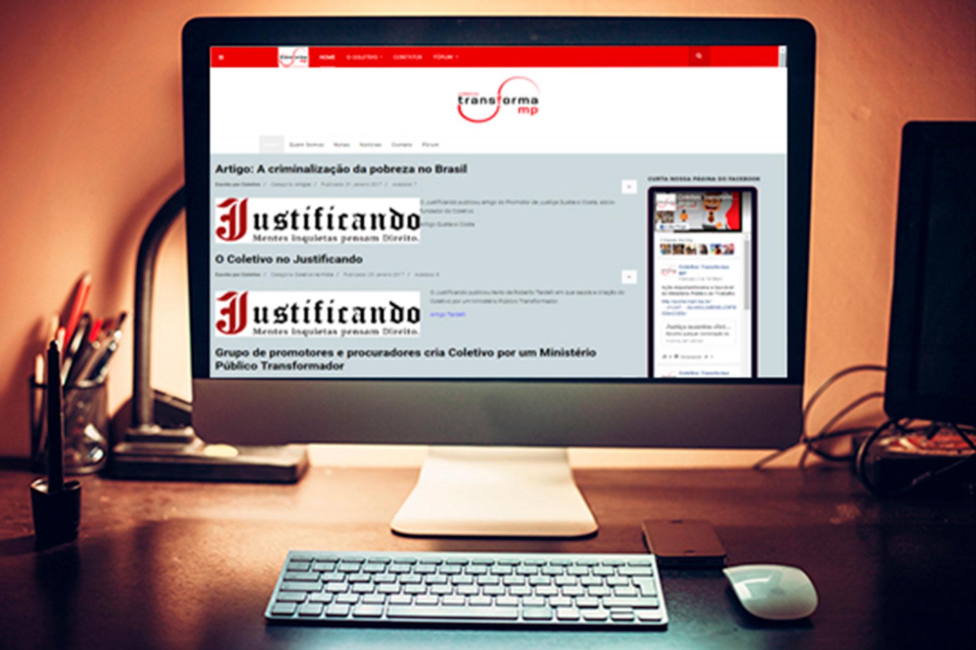 Site transformamp.com abre espaço para discussões sobre o papel do Ministério Público brasileiro