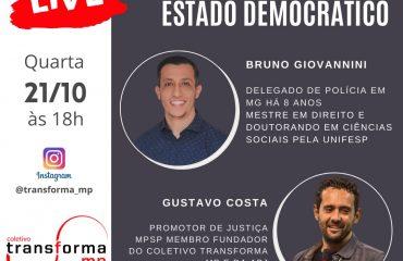 Live: Violência Policial e Estado democrático